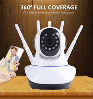 1080P 720P cámara IP inalámbrica WIFI cámara de seguridad de Casa de vigilancia de 2 CCTV de Audio Cámara 2mp Monitor de bebé