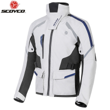 SCOYCO Autumn Winter Motorcycle Jacket Men Waterproof Windproof Moto Riding Racing Motorbike Suit Protective Gear,JK108