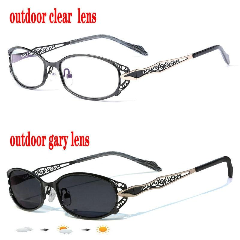 Солнцезащитные очки с фотохромными линзами для чтения, с прогрессивными многофокальными линзами для мужчин и женщин, для дальнозоркости, гиперметропии, FML