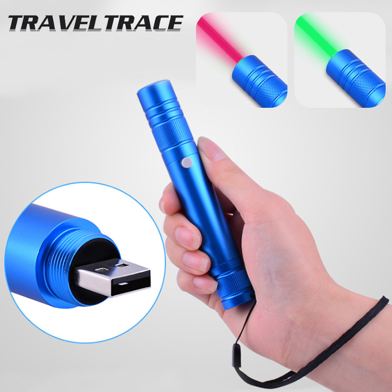 Mini Red Laser Pointer usb Rechargeable High Power Burning Green Visible Beam Hunting Accessories Military Gear Laser Pen Cat