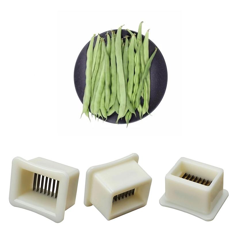 1//2PCS Bean Slicer French Runner Easy Handy Tool String Remover Cutter X-mas Use