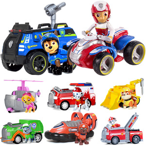 Image 3 - Genuine Paw Patrol Toy Set Toy Car Everest Apollo Tracker Ryder Skye Scroll Action Figure Anime Model Toys for Children Gift