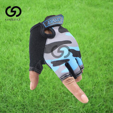 Fingerless Kids Gloves Non-Slip Ultrathin Children Half Finger Breathable For Boys Girls