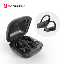 SANLEPUSหูฟังไร้สายบลูทูธ 5.0 TWSหูฟังชุดหูฟังพร้อมไมโครโฟนหูฟังสเตอริโอสำหรับโทรศัพท์Xiaomi