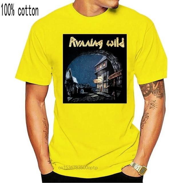 XXL Tshirt Heavy Power Metal Band T-Shirt Offcl Running Wild Port Royal Shirt S