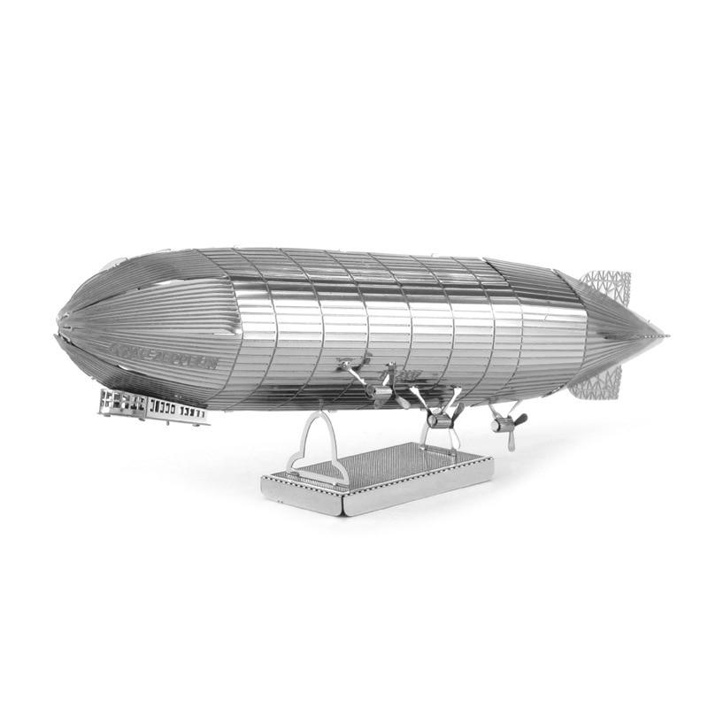 Love Spell All-Metal DIY Assembled Model 3D Nanometer 3D Puzzle Model Zeppelin