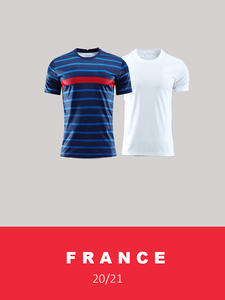 21 Equipe-De-France Football-Equipment-Jerseys National-Football-Team-Kit Kids Outlet