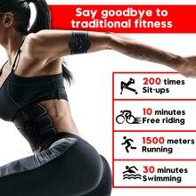 Ems筋肉トレーナー電子筋肉刺激装置ab腹部筋肉トナー筋トレーナーarm/バック、腹部筋トレーナー