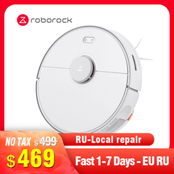 Roborock S5 Max Robot Vacuum Cleaner International Version Virtual Wall Automatic Area Sweeping Mopping Function Path Planning