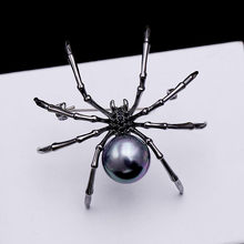 Spider PIN Mother of Pearl และ Pave Spider (China)