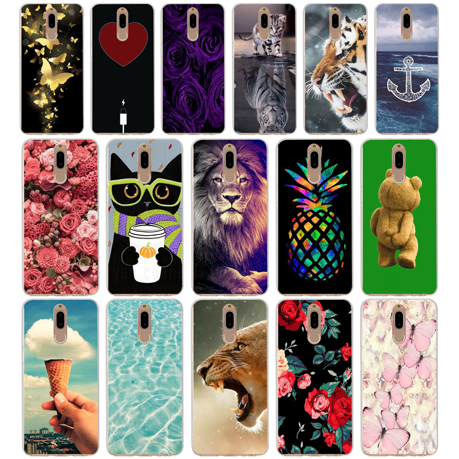 K Case Cover For Huawei Nova 2i Soft Silicone TPU Cool Patterned Painting For Huawei Nova2i Phone Cases