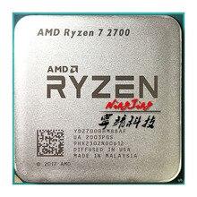 AMD Ryzen 7 2700 R7 2700 3.2 GHz ośmiordzeniowy szesnastkowy 16M 65W procesor CPU YD2700BBM88AF gniazdo AM4