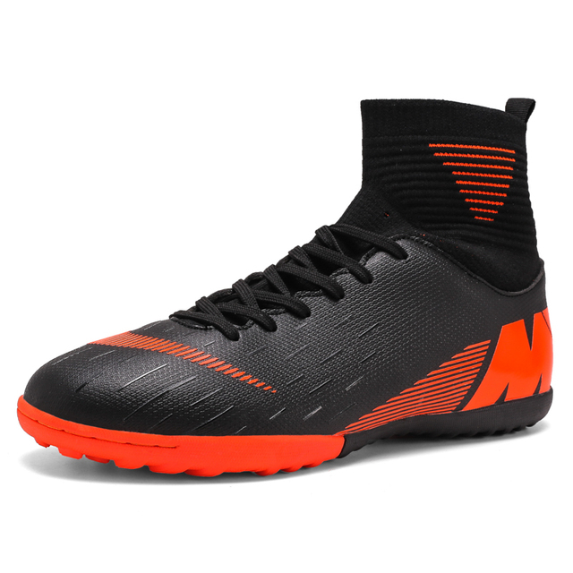 Men's futzalki football shoes sneakers indoor turf superfly futsal 2019 original football boots ankle high soccer boots cleats