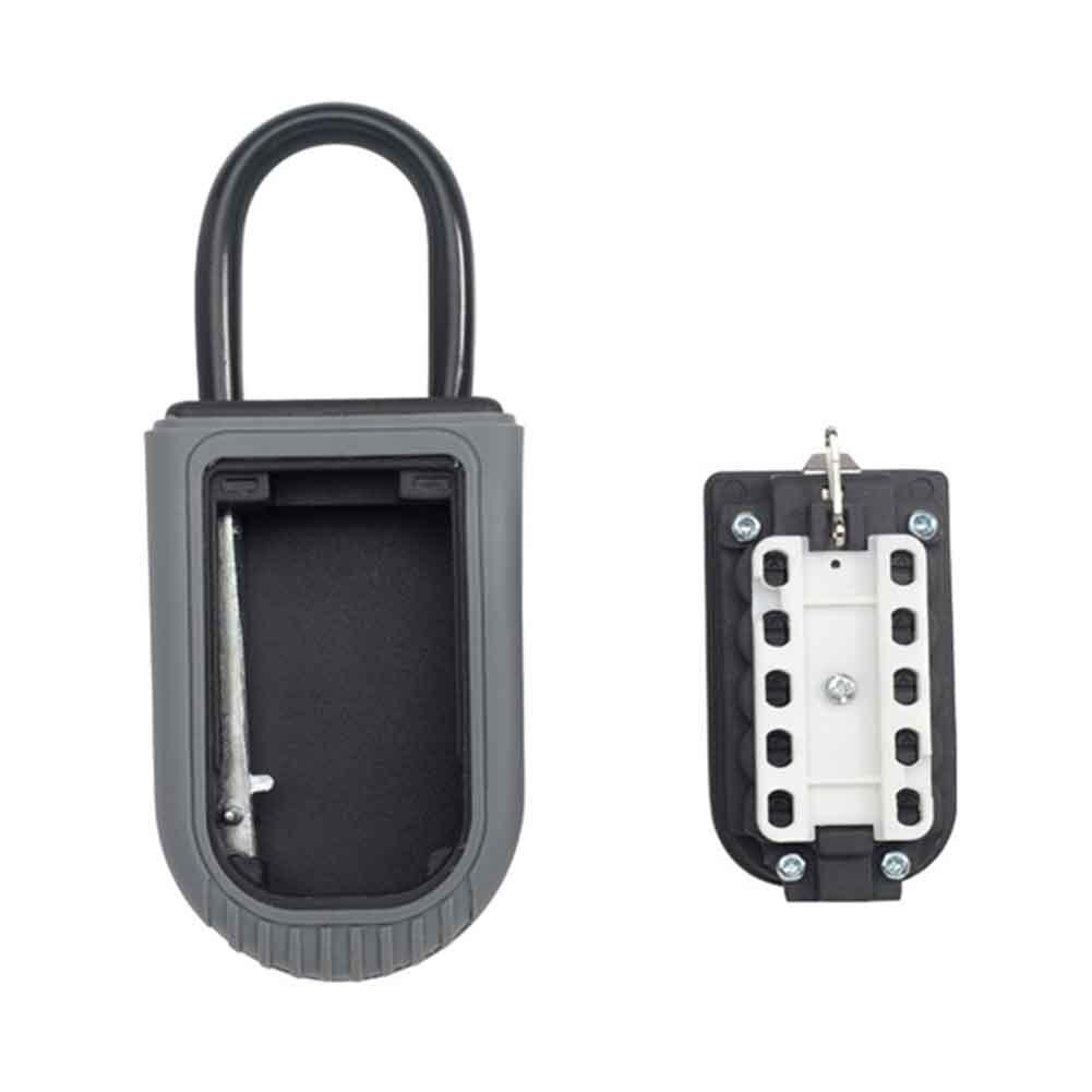 10 Digit Combination Indoor Outdoor Padlock For Realtor Storage Key Lock Box Home Waterproof Zinc Alloy Safe Real Estate Garage