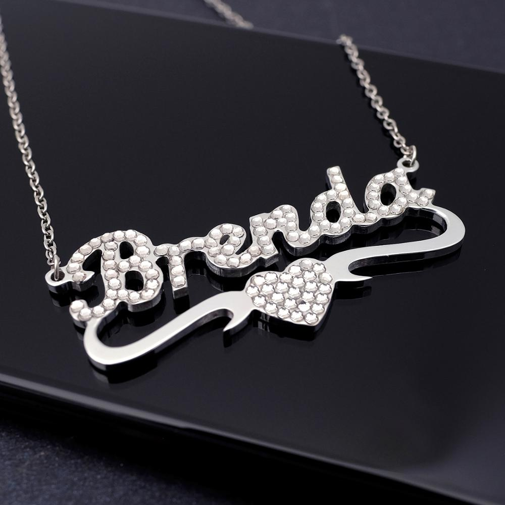 Jewelry & Access. ...  ... 1903979262 ... 5 ... Any Personalized Name Necklace alloy  pendant  Alison font  fascinating  pendant  custom name necklace Personalized  necklace ...