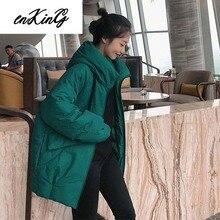 2019 women parkas jackets female coat outwear winter parka thicken double warm streetwear M-XXL Plus Size