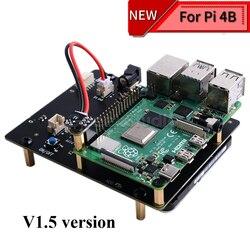 Новая версия! Raspberry X825 2,5 дюймов SATA HDD/SSD плата расширения хранения акриловый чехол для Raspberry Pi 4B ( 4 модели B)