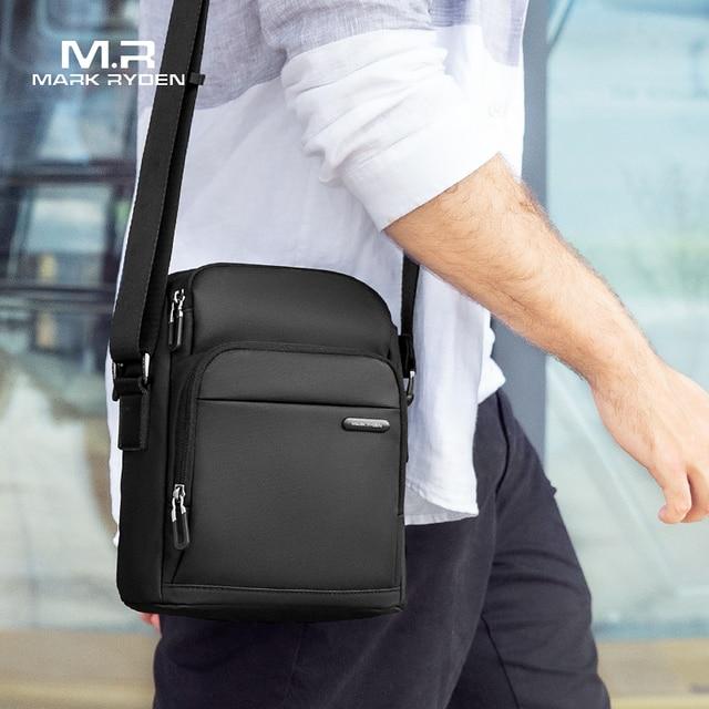 مارك رايدن الرجال حقيبة ساعي حقيبة كتف خمر حقيبة كروسبودي عادية حقائب اليد