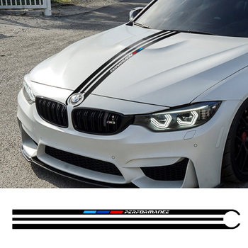 Car Hood Stickers For BMW e46 e90 e60 e39 f30 f10 e36 e87 x5 e70 e91 g30 Vinyl Film Stylish Automobiles Tuning Car Accessories image