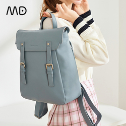Mandarina Duck Luxury Designer POSTINO Leisure Premium High Quality Cowhide Bag Stylish Backpack Women Real Leather Backpack