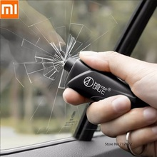 شاومي المحمولة صغيرة سلامة المطرقة سيارة الطوارئ مطرقة كسر النافذة الزجاج حزام الأمان القاطع نافذة الهروب شفرة أداة