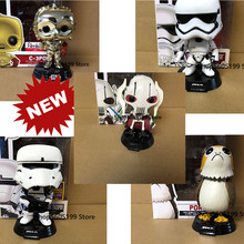 POP STAR & PORG CHEWBACCA PVC GENERAL GRIEVOUS with box Action Figure Collectible Model toys for chlidren