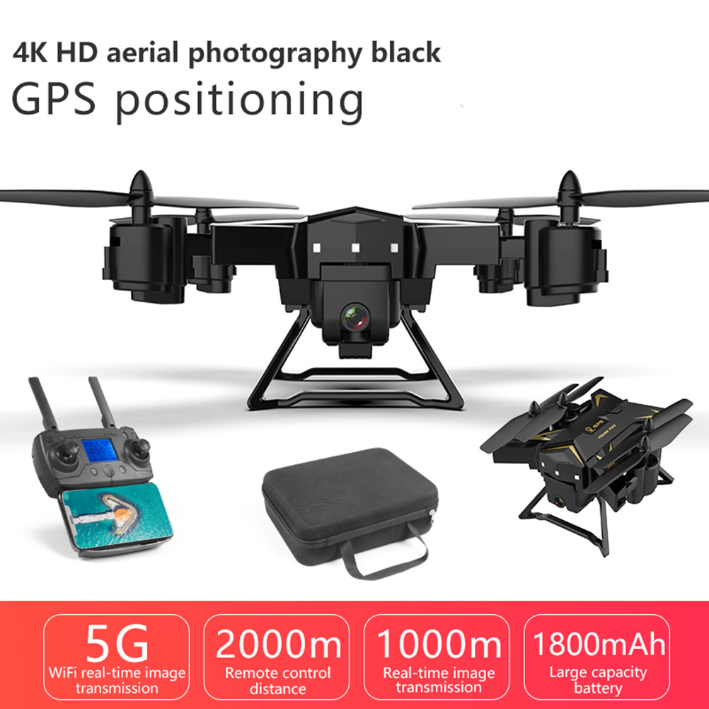 pro GPS <font><b>Drone</b></font> 2000 Meters Control long Distance RC Helicopter <font><b>Drone</b></font> with <font><b>5G</b></font> 4K HD Camera Quadcopter Foldable FPV WIFI KY601G image