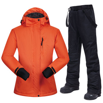Snowboarding Suits Women Winter Windproof Waterproof Female Ski Jacket And Snow Pants Sets Super Warm Brands Women Ski Suit dropshipping waterproof sportwear female ski suit women winter ski wear hooded jacket strap pants snow jacket and pants