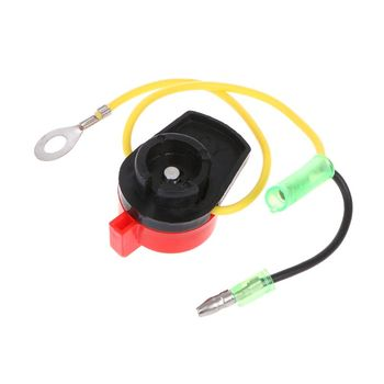 Engine Power Stop On Off Kill Switch Control For Honda GX110 GX120 GX160 GX200 GX240 Y51B rcexl opto gas engine kill switch