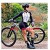 20 cores das mulheres longo mangas compridas skinssuit go pro equipe de ciclismo macacão pro equipe irmã triathlon roadbike mtb roupas verão macaquinho ciclismo feminino manga longa roupas com frete gratis macacao 13