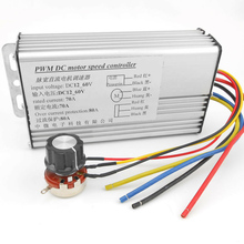 DC Motor Governor PWM 70A 10-60V Adjustable Speed Regulator Control 4000W DC Motor Speed Control Brush Motor Controller