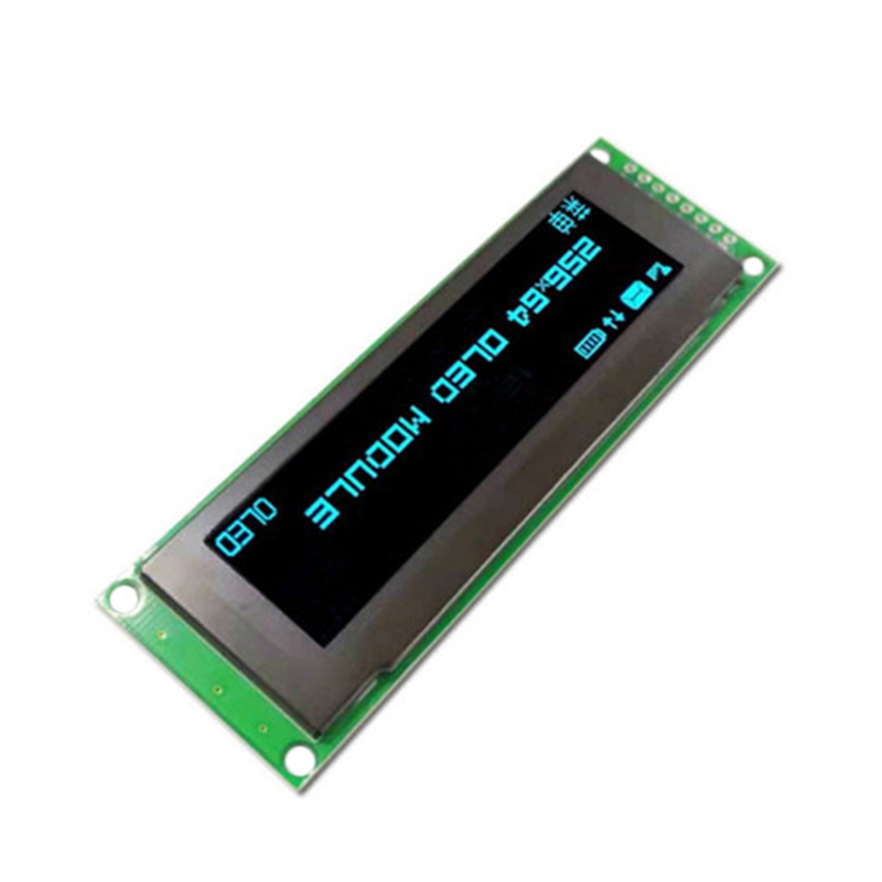 2.8 Inch OLED Display 256X64 25664 Dots Image LCD Module Display Screen LCM Screen SSD1322 Controller Support SPI