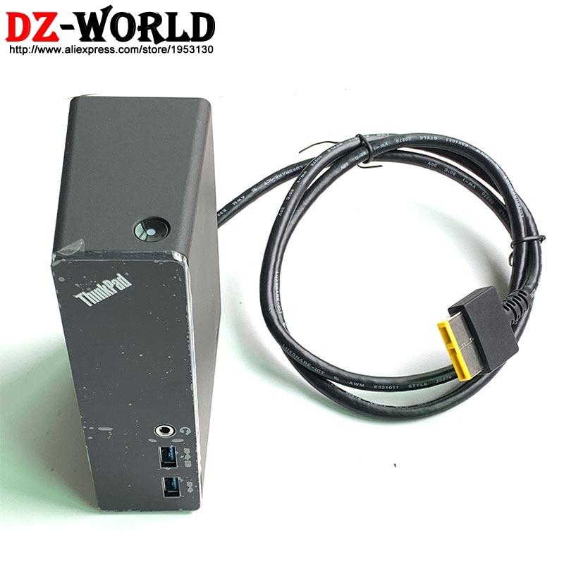 OneLink Pro Dock DU9033S1 For Thinkpad E455 E450 E550 E555 E431 E540 E440 E531 S540 S440 S431 S531 X1 Carbon Yoga 12 14 15