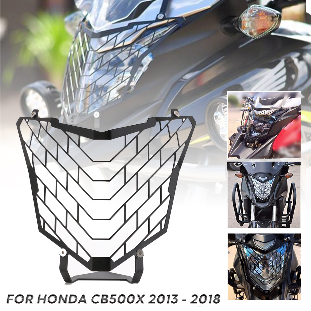 Free Shipping Motorcycle Headlight Grille Head Lamp Light Guard Cover Protector For Honda <font><b>CB500X</b></font> 2013 2014 2015 2016 2017 <font><b>2018</b></font> image