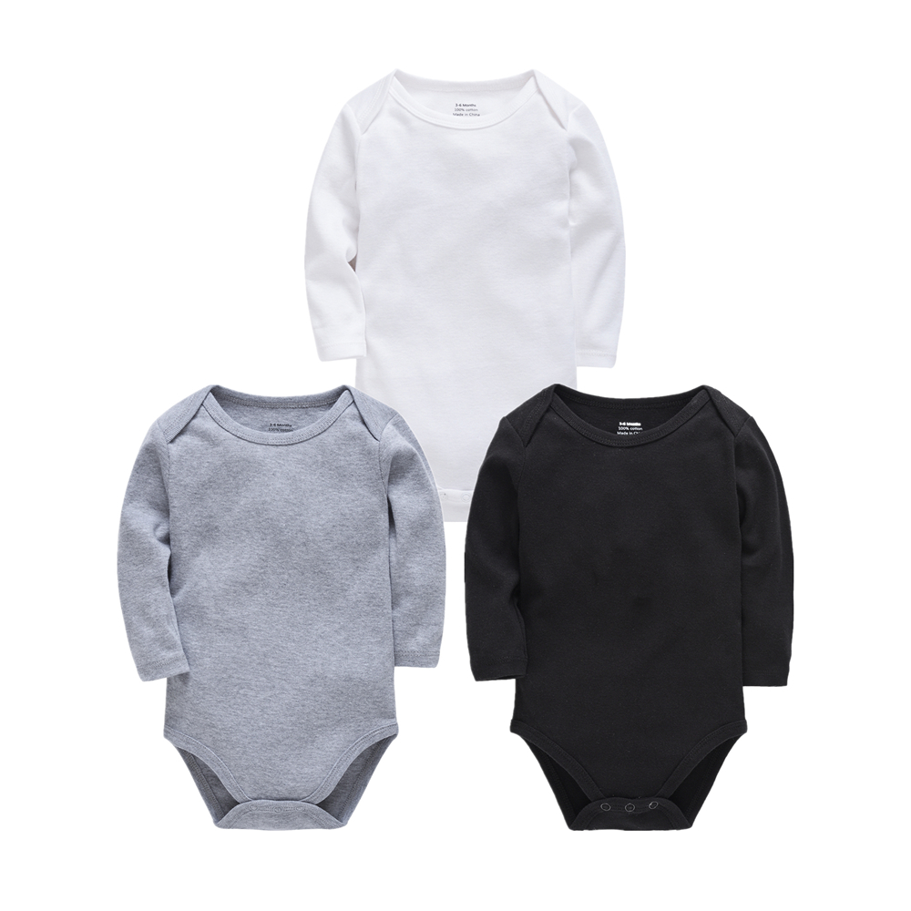 3pcs Baby Pyjamas Newborn Girl Boy Pijamas bebe fille Cotton Breathable Soft ropas bebe de Newborn Sleepers Baby Pjiamas