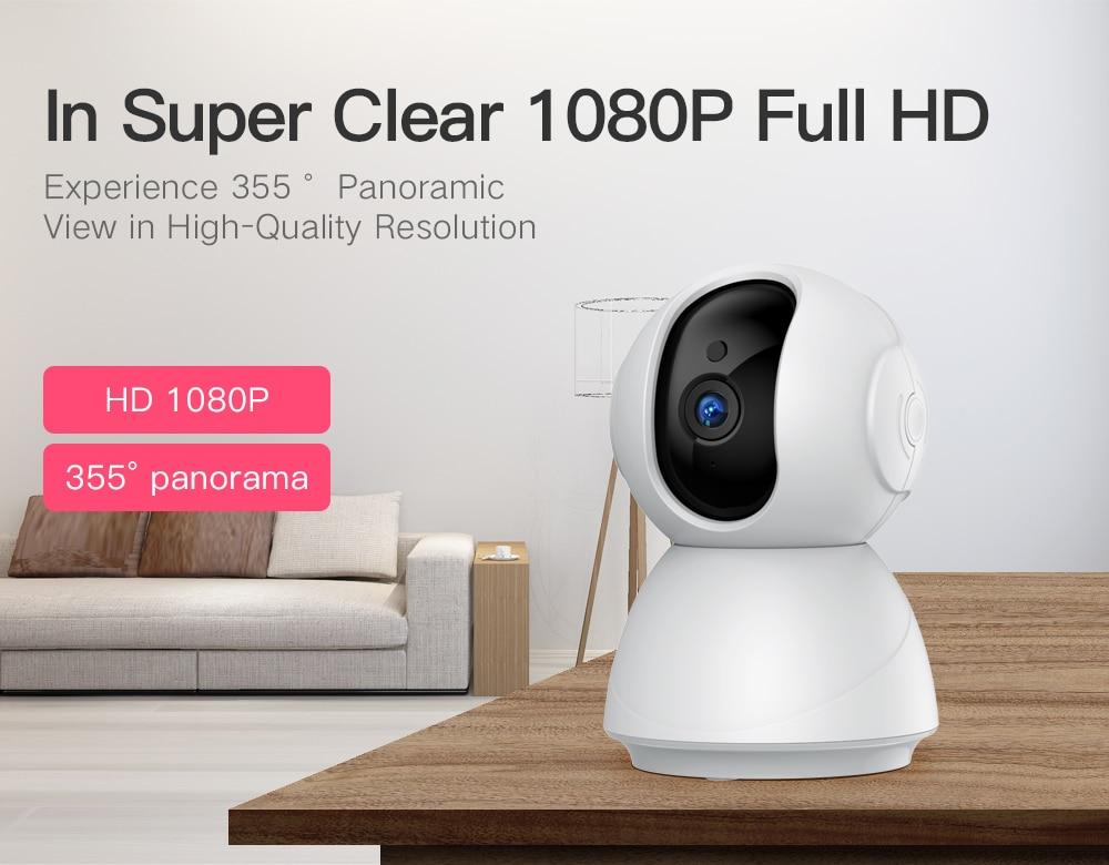 H276dc2a0e01a43d4a80b6116f8ca12502 SDETER 1080P 720P IP Camera Security Camera WiFi Wireless CCTV Camera Surveillance IR Night Vision P2P Baby Monitor Pet Camera