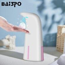 BAISPO distributeur de Gel désinfectant pour les mains sans contact de porte désinfectant pour les mains, accessoires de salle de bains, distributeur de savon Portable pour toilettes