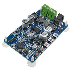 TDA7492P 50W + 50W CSR8635 Bluetooth 4.0 odbiornik Audio wzmacniacz cyfrowy pokładzie niebieski