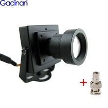Chegada nova alta resolução sony effio e 700tvl 25mm placa lente caixa de segurança cor câmera cctv