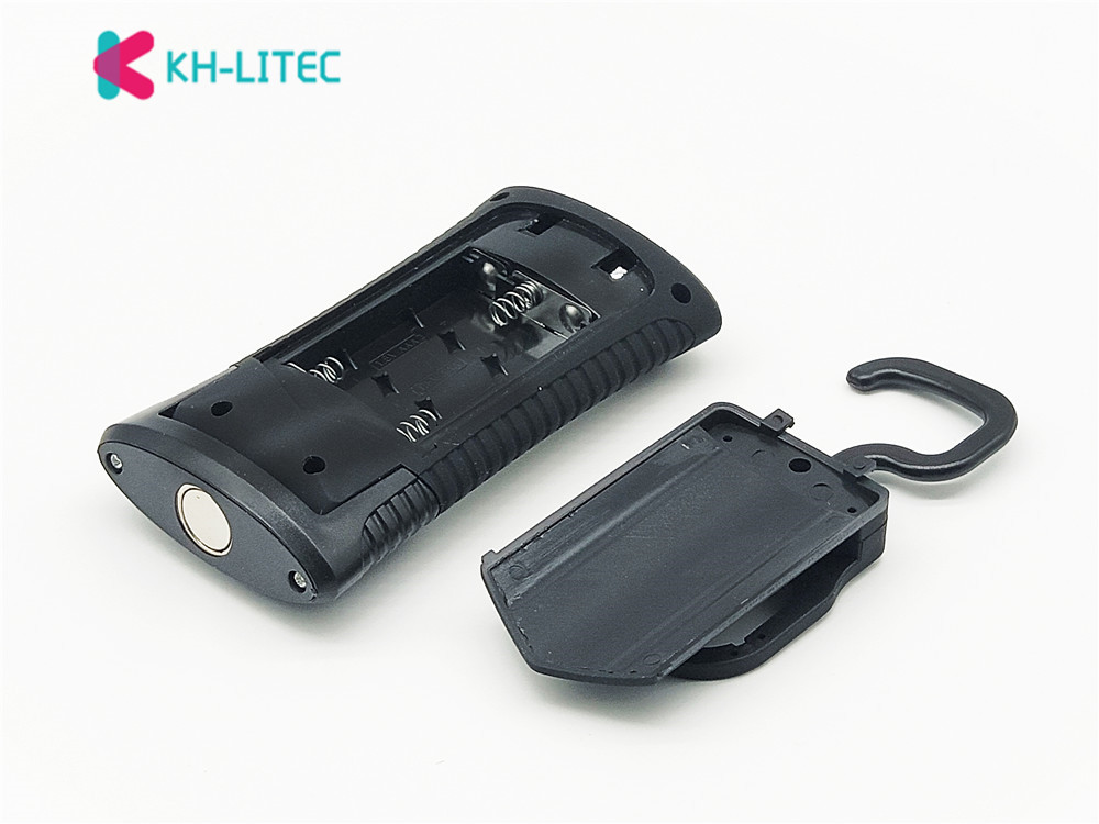 KHLITEC-Multifunctional-Portable-COB-LED-Magnetic-Folding-Hook-Working-Inspection-light-Flashlight-torch-Lanterna-lamp-USE-3xAAA(10)