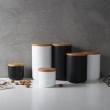 Скандинавский кухонный Белый Черный герметичный керамический