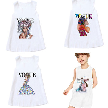 New Informal Summer season Sleeveless 4T-9T Women Attire Children Trend Woman Tremendous Mother Costume Print Youngsters Garments Woman Energetic Sundress
