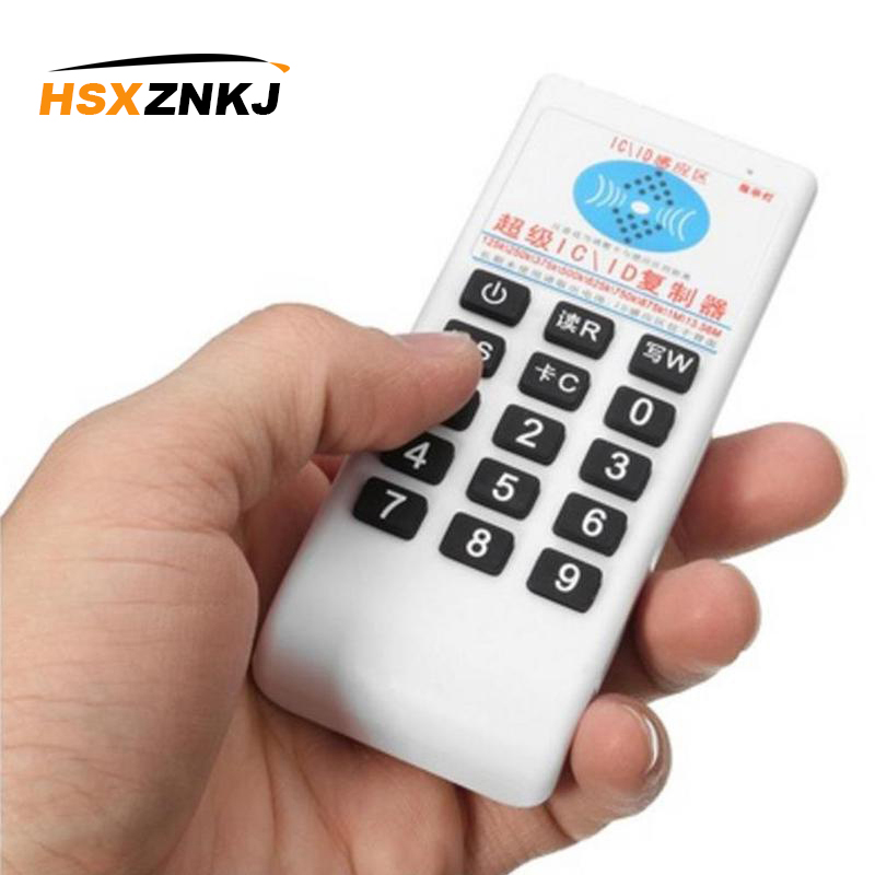 Handheld RFID 125Khz-13.56MHZ Copier Duplicator Cloner RFID NFC IC Card Reader With Writer Cards Suit