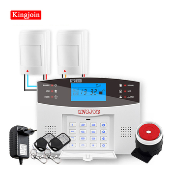 Wired & Wireless 433MHz, Wifi PSTN GSM Home Burglar Security Alarm System Smart Home Relay Output APP Russian Spanish 7 language english french russian spanish voice wireless wired home security gsm alarm system lcd display touch keypad