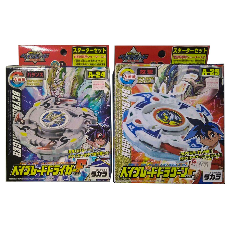 TAKARA TOMY Metal Fight Beyblade Fusion Collection for Adult Gifts A24 Driger F A25 Dragoon F G MS MG Bey Blade Tops Spining Toy