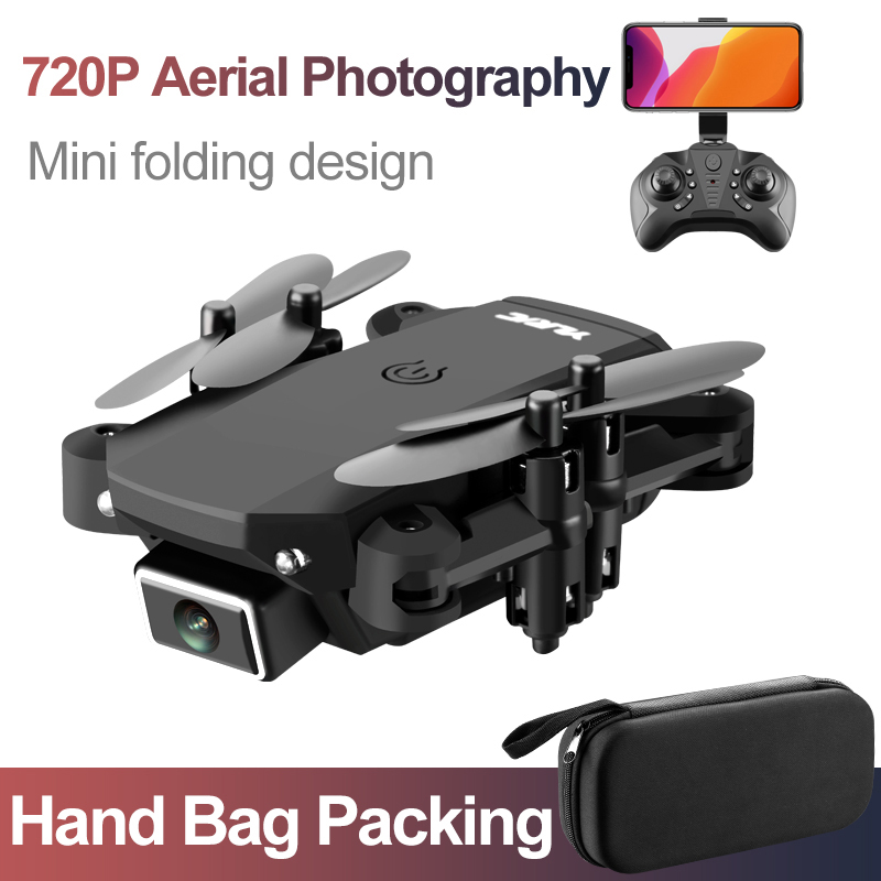 New S66 Mini Folding Remote Control Drone 4K Dual Camera HD Aerial Photography Four-axis Aircraft Long Battery Life Toys For Kid