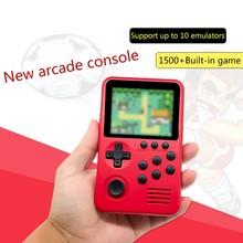 2021 neue M3S Mini Handheld Spielkonsole Spieler Gebaut-in 1500 + Spiele 16 Bit Retro Gaming