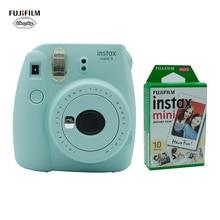 חג המולד מתנה 5 צבעים Fujifilm INSTAX מיני 9 מיידי מצלמה סרט מצלמה תמונה + 10 20 גיליונות Fujifilm Instax מיני 8 9 סרט
