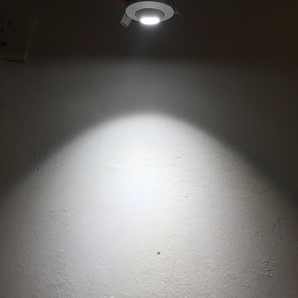 3w mini downlight embutido bola luzes gabinete