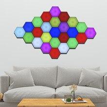 Nordic RGB LED kinkiety oświetlenie do salonu sypialnia oświetlenie LED wrażliwe kinkiety wewnętrzne lampki nocne